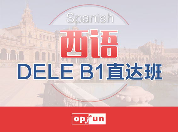 DELE B1直达班
